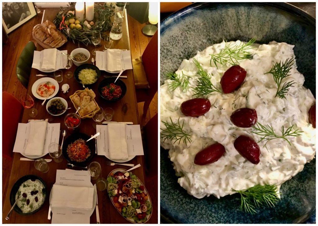 Ein Abend in der Taverna von Stephanos Pavlos