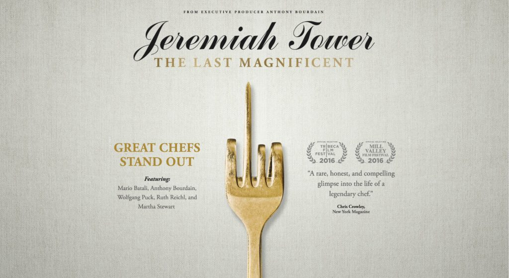 "Fim-Tipp: ""Jeremiah Tower-The Last Magnificiant"""