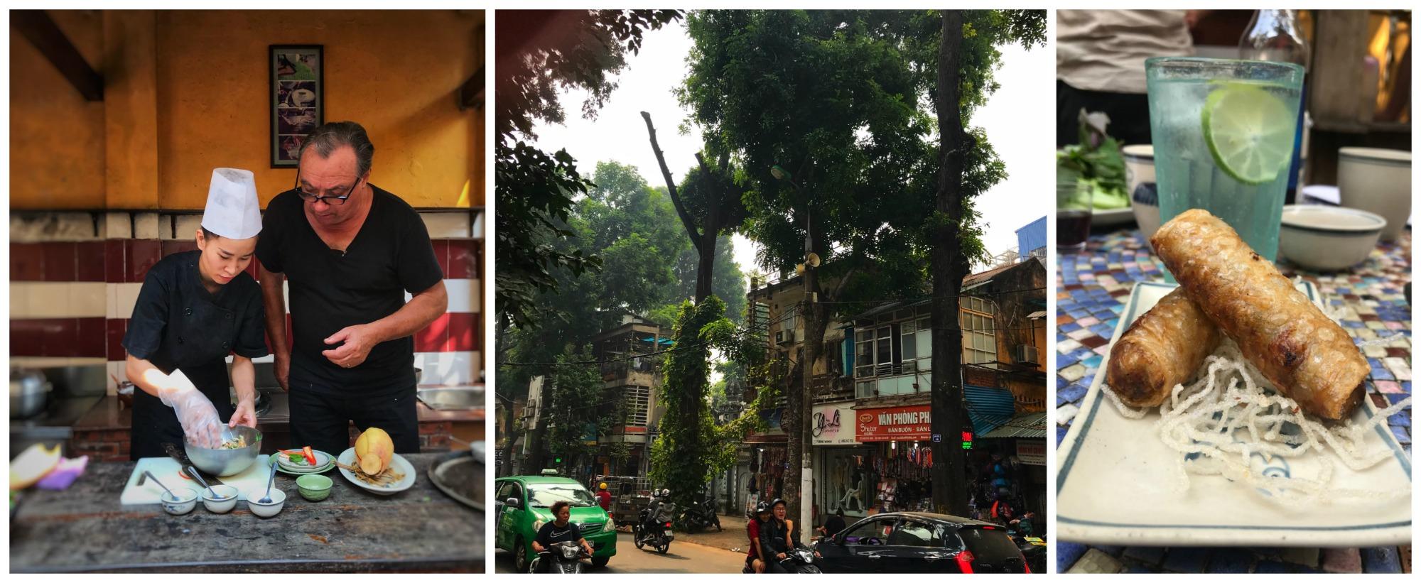 vietnam eine kulinarische reise 4 zwei tage in hanoi bun cha und der kochkurs bei. Black Bedroom Furniture Sets. Home Design Ideas
